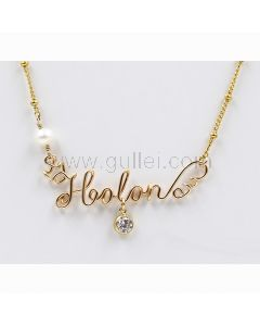 Handwriting Name Necklace Anniversary Gift for Her