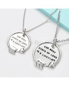 Matching Promise Necklaces for Girlfriend Boyfriend