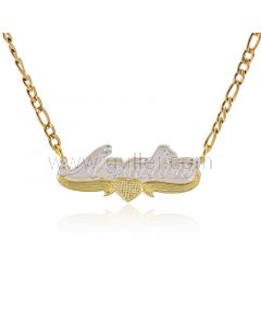 Fancy Custom Name Pendant Necklace for Her