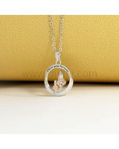 Pendant Necklace Gift for Mom