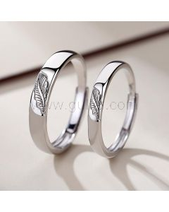 Matching His and Her Promise Rings Set for 2