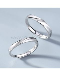 Custom Engraved Wedding Rings for Him and Her