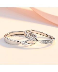 His and Hers Engagement Rings Set for 2