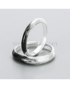 Two Tone Couple Promise Rings for 2