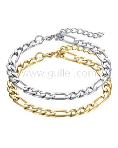 Matching Chain Bff Bracelets Set for 2