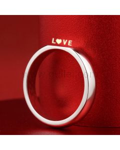 Love Light Reflection Promise Ring For Him or Her