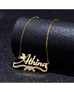 Artistic Personalized Name Necklace for Her