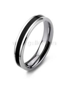 Personalized Engraved Titanium Steel Womens Wedding Band