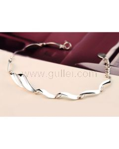 Personalized Fashion Bracelet Gift for Women Sterling Silver