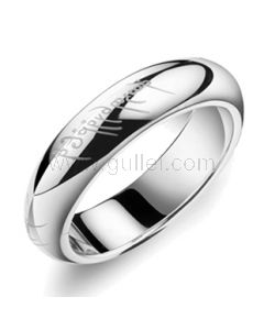 Lord of the Rings inspired Personalized Promise Ring