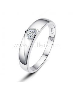Heart Shaped Promise Rings for Women with Custom Names