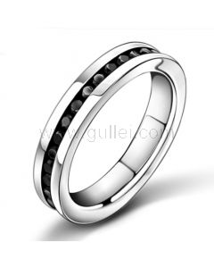 Personalized Mens Promise Ring with Custom Engraving
