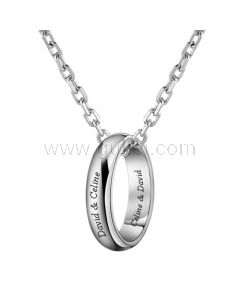 Personalized Name Necklace for Men Anniversary Gift