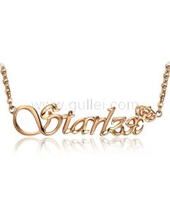 Crown Custom Name Necklace Birthday Gift for Her