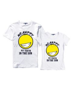 Funny Cartoon His Hers T-Shirts for Sale Price Set of Two