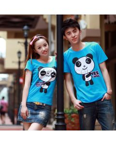 Panda Matching T Shirts for Couples Cute Love Idea Set for Two