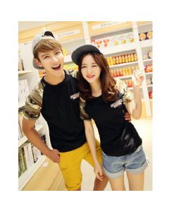 Cute Korean Matching T-Shirts for Married Couples