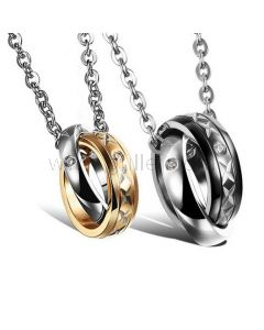 Matching Boyfriend and Girlfriend Engraved Jewelry Set for 2