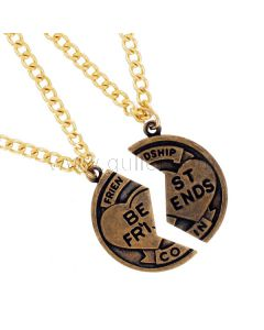 Broken Coin BFF Necklaces for 2