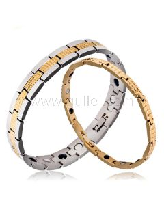 Engraved Matching Couples Energy Health Bracelets for 2