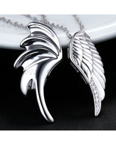 Angel Wings Designers Couples Jewelry Set for Two Persons