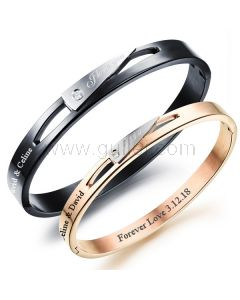 Promise Couple Bracelets Birthday Gift for Him and Her
