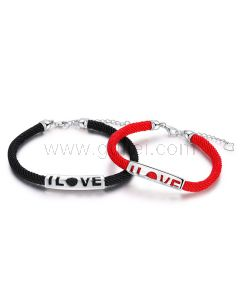 I Love Matching Bracelets Christmas Gift for Him and Her